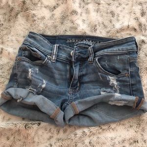 American Eagle Outfitters SuperSuperStretch shorts